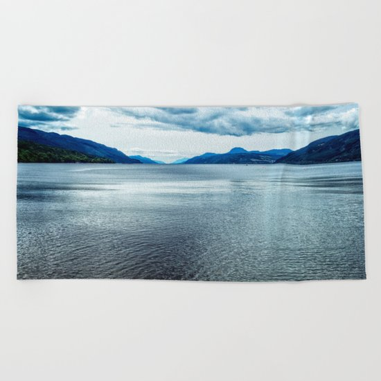 Loch Ness Scotland Beach Towel