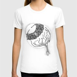 Anatomy Series: Eyeball Floweres T-shirt