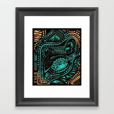 Ancient Tanscape Framed Art Print