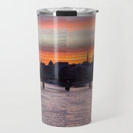 Sunrise over ile de la Cite - Paris Travel Mug
