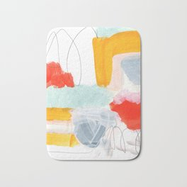 abstract painting XVI Bath Mat