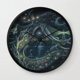 NIGHT NYMPH Wall Clock