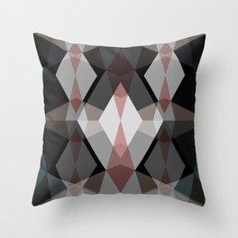 Rhombus Pattern Throw Pillow