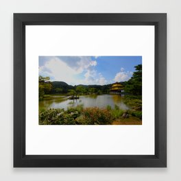 Kinkaku Kyoto Framed Art Print