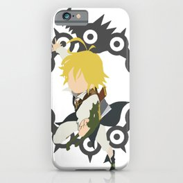 Dragon's Sin Of Wrath - Meliodas iPhone Case