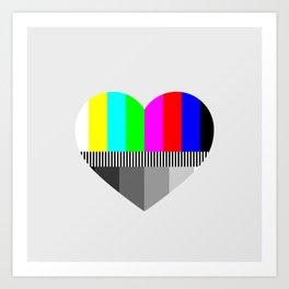 A Test of Love Art Print
