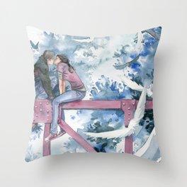 Amor profano Throw Pillow