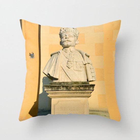 Alba Iulia Statue Throw Pillow By Tony4urban Society6