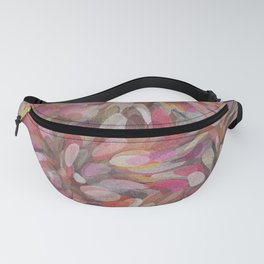 Pink Bubble Painting Fanny Pack