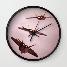 fighter jet Wall Clock