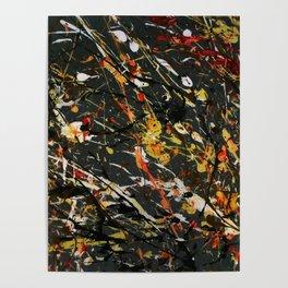 Jackson Pollock Interpretation 2017 Poster