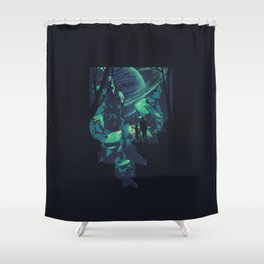 Cosmic Canyon Shower Curtain
