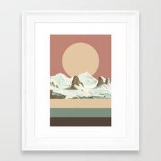MTN II Framed Art Print