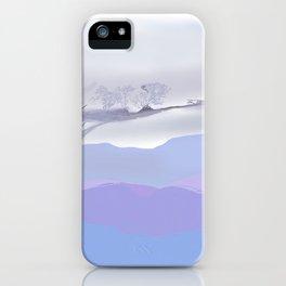 Lavender Landscape iPhone Case