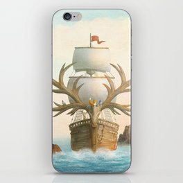 The Antlered Ship - Jacket iPhone Skin