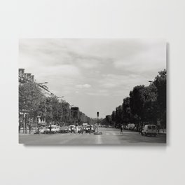 Champs Elysees, Paris Metal Print