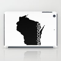 wisconsin iPad Cases featuring Wisconsin by Isabel Moreno-Garcia