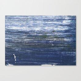 Deep koamaru abstract watercolor Canvas Print