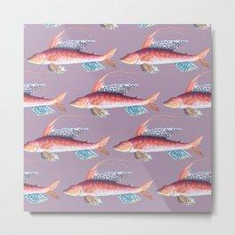 Sailed fish Metal Print