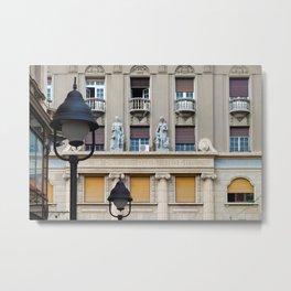 Belgrade / Knez Mihailova Street Metal Print