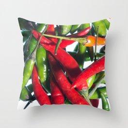 Chilli Riot Throw Pillow