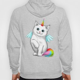 Cat unicorn Hoody