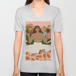 Crazy Plant Lady II Unisex V-Neck