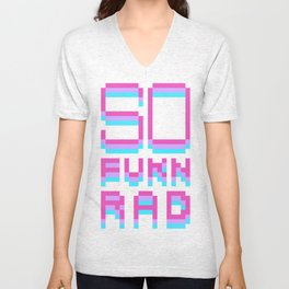 SO FUKN RAD Unisex V-Neck