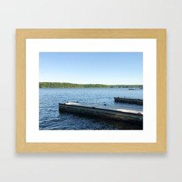 Of the Docks Framed Art Print