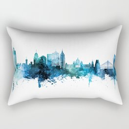 Bengaluru Skyline India Bangalore Rectangular Pillow