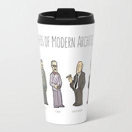 Fathers of modern architecture Travel Mug