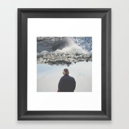 \\\\\ switched on ///// Framed Art Print