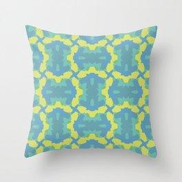 Mt Symmetry Throw Pillow