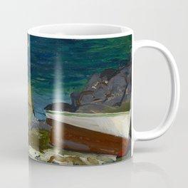 The Harbor, Monhegan Coast, Maine, 1913 Coffee Mug