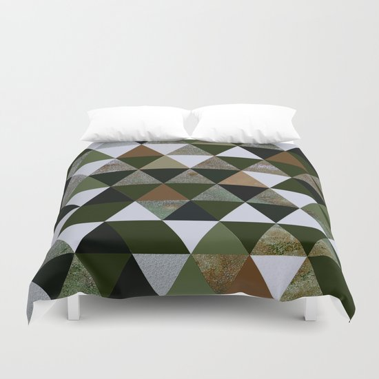 Abstract #344 Duvet Cover