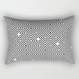 Op Art 24 Rectangular Pillow