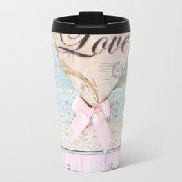 Love Heart Books Travel Mug