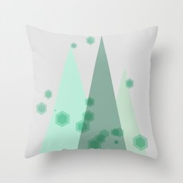 Peace on Earth Artwork Throw Pillow