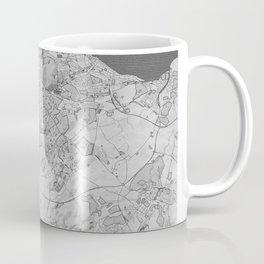 Edinburgh Pencil City Map Coffee Mug