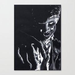 Pretend Like I'm Dead Canvas Print