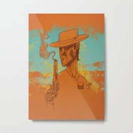 Sharp Shooter Metal Print