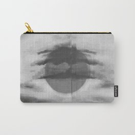 Abstract Black and White Sky Carry-All Pouch