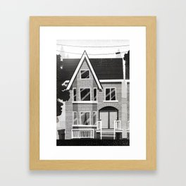 Places I've Lived Series - 2 Framed Art Print