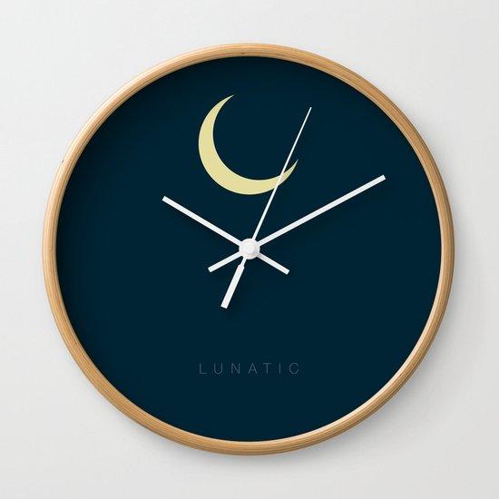 LUNATIC Wall Clock