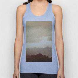 mountains (01) Unisex Tank Top