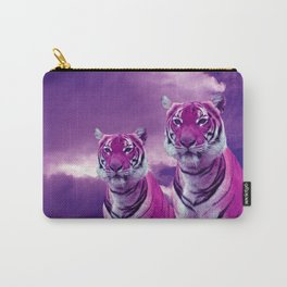 Purple Tiger Carry-All Pouch