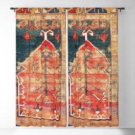 Konya Central Anatolian Niche Rug Print Blackout Curtain