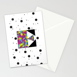 Letter E Stationery Cards