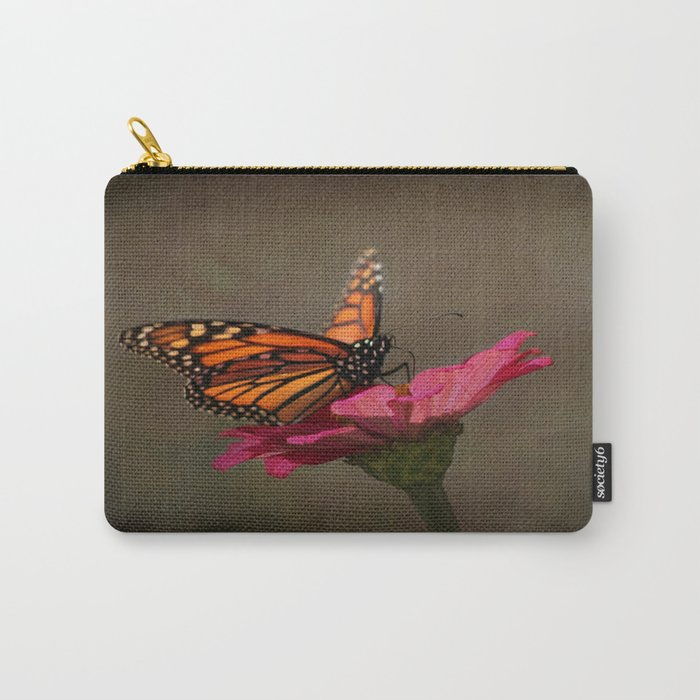 Prefect Landing - Monarch Butterfly Carry-All Pouch