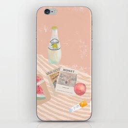Beach essentials. Limonata, glossier, watermelon and Van Gogh iPhone Skin